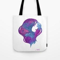 galactic hair Tote Bag