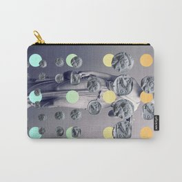 Statue With A Dot Gradient 1 Carry-All Pouch