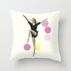 The Rules of Dance II Throw Pillow