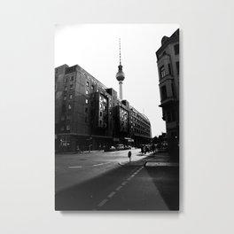 Berliner Straßen Metal Print