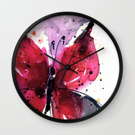 Butterfly Delight No. 5 Wall Clock