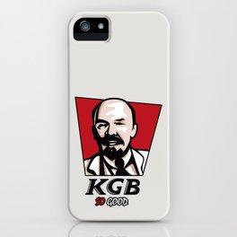 KGB iPhone Case