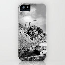 Innsbruck mountains iPhone Case