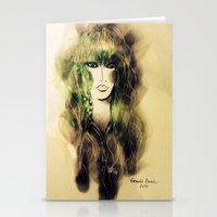 emerald Stationery Cards featuring Emerald by Cornelia Baciu