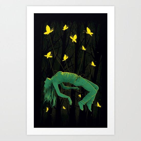 In Deep Sleep Art Print