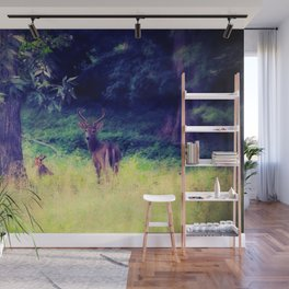 Morning in the Meadow Wall Mural