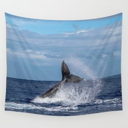 Baby Tail Slap Wall Tapestry