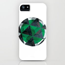 Jade Eye iPhone Case