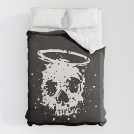 The Angel and The Gambler Duvet Cover