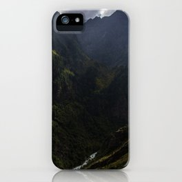Karnali River Valley, Northern Nepal iPhone Case