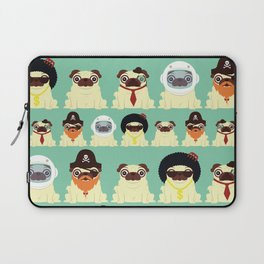 Pug pattern Laptop Sleeve