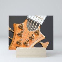 Morphed Electric Bass Mini Art Print