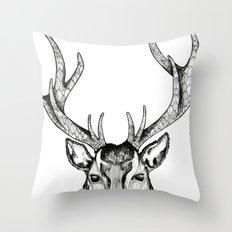 Ole Dear! Throw Pillow