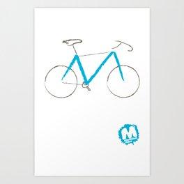 \\M// Frame Art Print