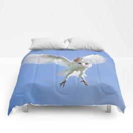 Flying Barn Owl Comforters