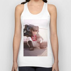 Monkey Beat Unisex Tank Top