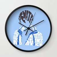 iwatobi Wall Clocks featuring haruka free  by Rebecca McGoran