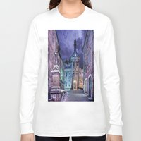 gotham Long Sleeve T-shirts featuring Gotham by Robin Curtiss