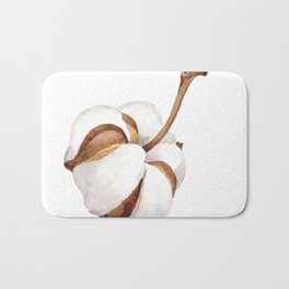 Cotton Flower 01 Bath Mat