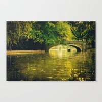 rowing Canvas Prints featuring Rowing by nature by Eduard Leasa Photography