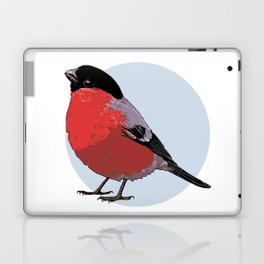Bullfinch by Kateryna Veshtak Laptop & iPad Skin