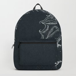 Fire starter -inverted color Backpack