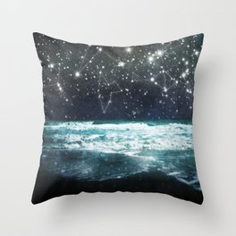 The Greek Upon the Stars Throw Pillow