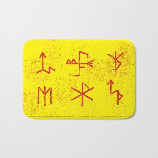 Runes Bath Mat