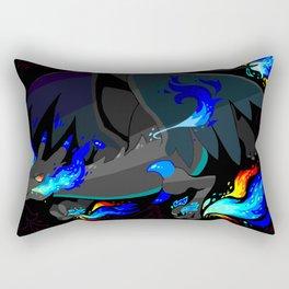 X dragon Rectangular Pillow
