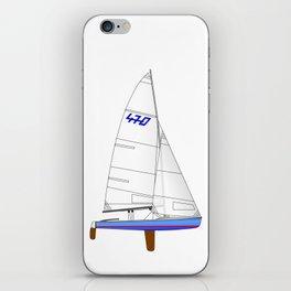 470 Olympic Sailboat iPhone Skin