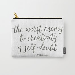 Self-Doubt Carry-All Pouch