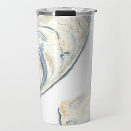Oyster Shells Travel Mug
