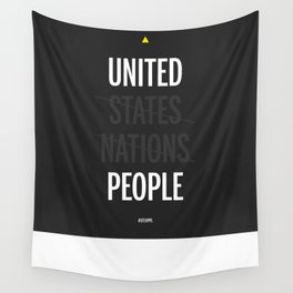 UP - United People Wall Tapestry