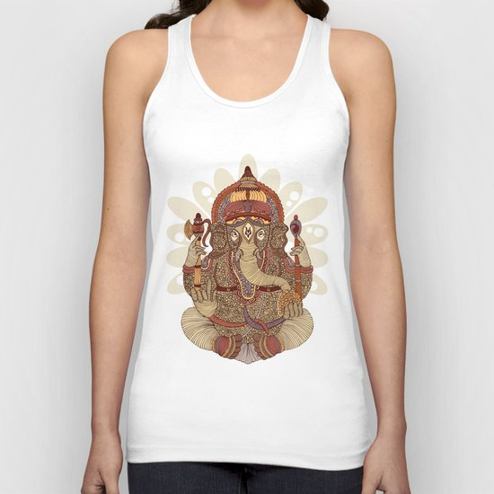 Ganesha: Lord of Success Unisex Tank Top