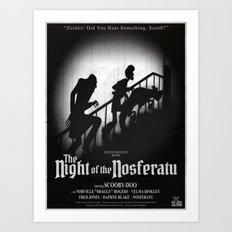 The Night of the Nosferatu Art Print
