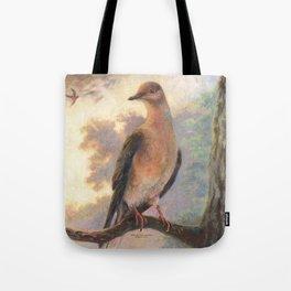 Passenger Pigeon - Martha Finds Her Flock  Tote Bag