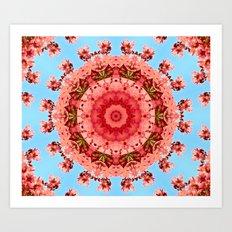 Mandala - Romance Art Print