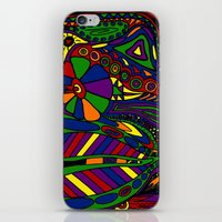 psychadelic iPhone & iPod Skins featuring Psychadelic by Groolya
