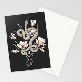Magnolia and Serpent Stationery Cards