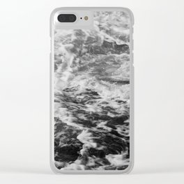 Froth Over Clear iPhone Case