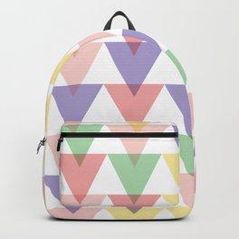 geometric background seamless pattern Backpack