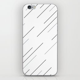 Clear start iPhone Skin
