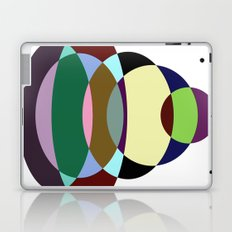Pastel Meditation - Pastel coloured, relaxing, calming, abstract, elliptical interactions Laptop & iPad Skin