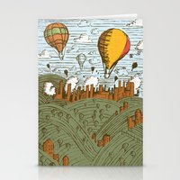 balloons Stationery Cards featuring BALLOONS by Matthew Taylor Wilson