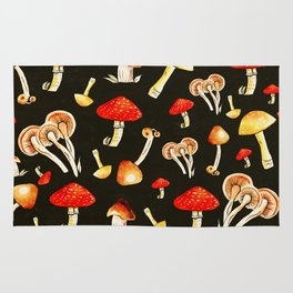 Brigt Mushrooms Rug
