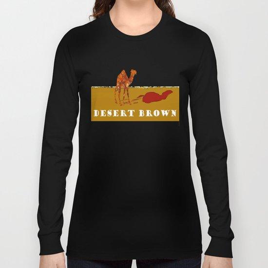 Desert Brown Long Sleeve T-shirt