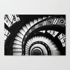 The Downward Spiral Canvas Print