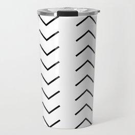 Abstract Arrows Travel Mug