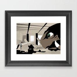 Gamera the Brave Framed Art Print