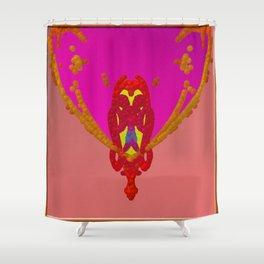 Jewelery-owl Shower Curtain